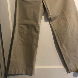 Woman's GAP wide leg khaki slacks pants sz 10